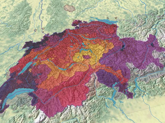 Évolution du territoire de la Suisse