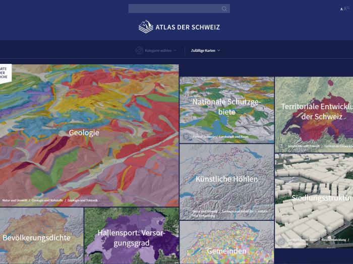 Atlas de la Suisse