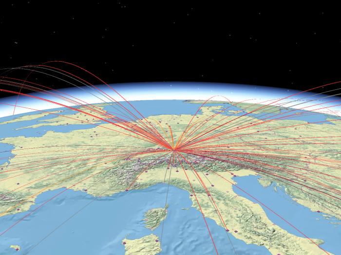 Voli di linea: passeggeri trasportati sulle tratte internazionali